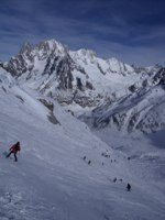 Vallee blanche 150 200